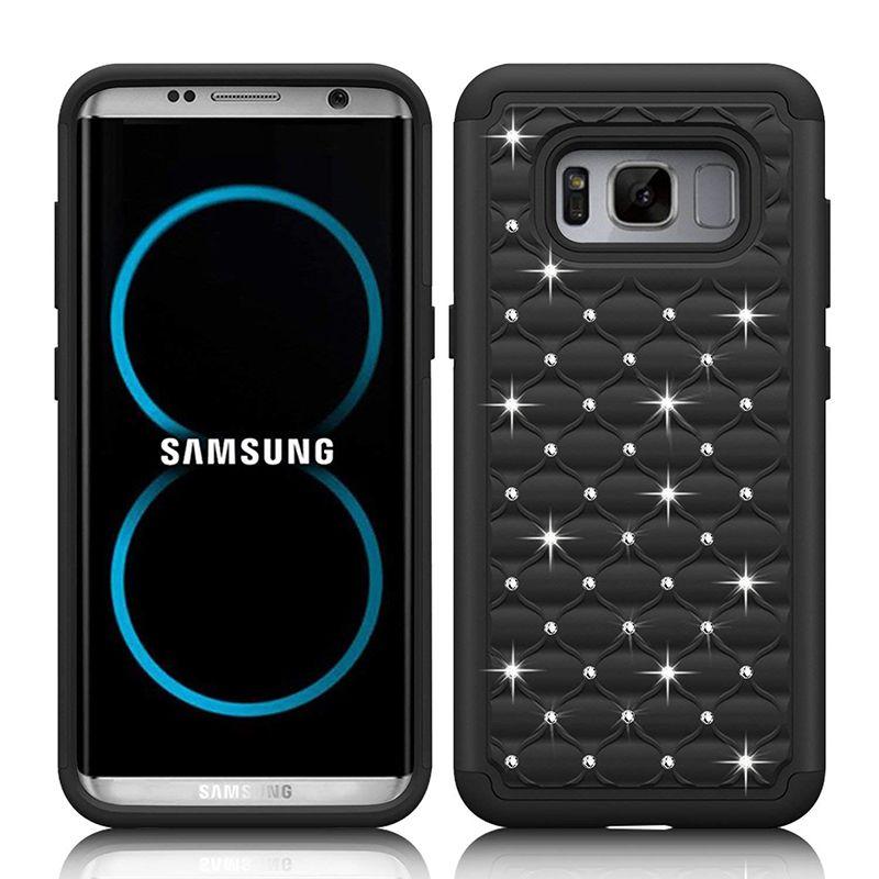 Для Samsung S8 Case 2in1 Мягкий материал ТПУ и жесткий поли кабонат Полное звездное небо Для Samsung S8