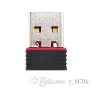 مصغرة USB واي فاي محول 150M USB واي فاي بطاقة شبكة لاسلكية 802.11n لشرائح الكمبيوتر MT7601 مجانا DHL