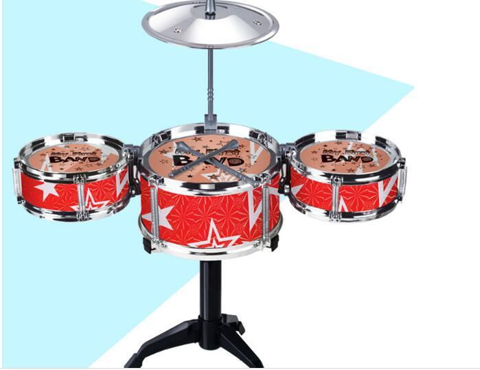 2019 New Hot Simulation Drum For Children Suit Percussion Instruments Large  Jazz Drums Musical Instruments Drums Equipped With Stool From Liu513121,