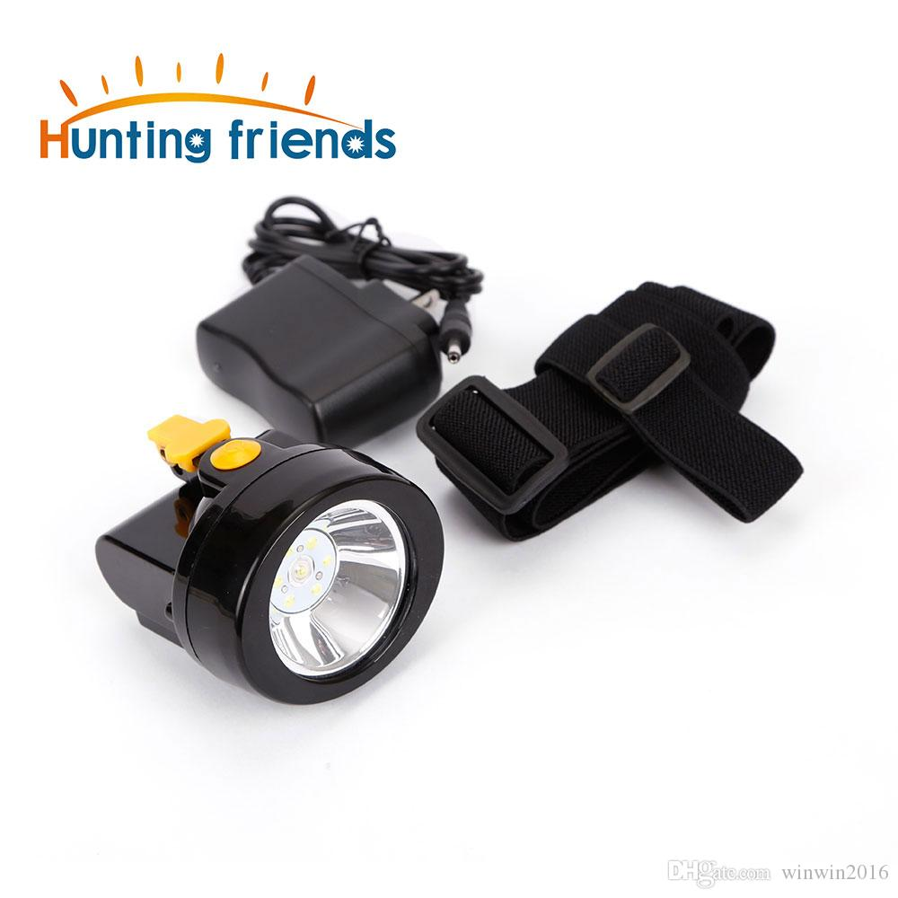 50pcs/lot Safety Mining Light KL2.8LM Rechargeable 1+6 LED Coal Miner Cap Light Waterproof Mining Headlamp Explosion Rroof Headlight