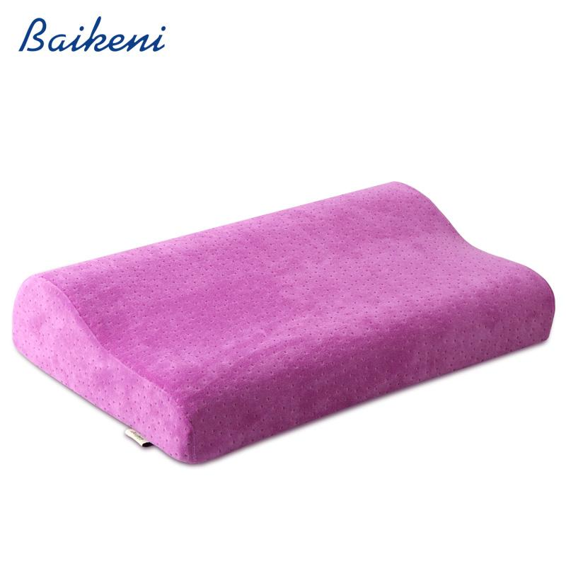 50*30 Orthopedic Neck Pillow Slow Rebound Memory Foam Pillow Physical Therapy Bed Pillows Cervical Health Care Sleeping