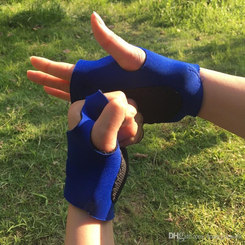 Half Finger Gloves Non Slip Sports Dumbbell Glove Gym Weight Lifting Fitness Exercise Training Mittens Hot Sale 3 8gr B