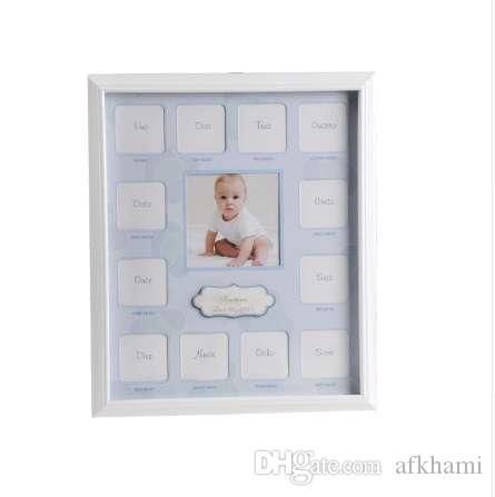 Фоторамка для 1-го ребенка День рождения ребенка фоторамка 12 месяцев нетоксичные украшения дома фоторамка подарок для ребенка домашнего декора