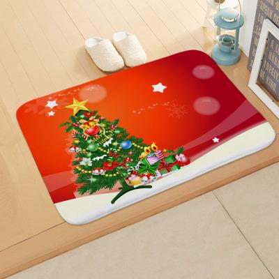 2018 Christmas Bath Mat Non Slip Mat Christmas Kitchen Mats Absorbent Bathroom Rug Bedroom Living Room Kitchen Foot Pad From Weaving Web Price