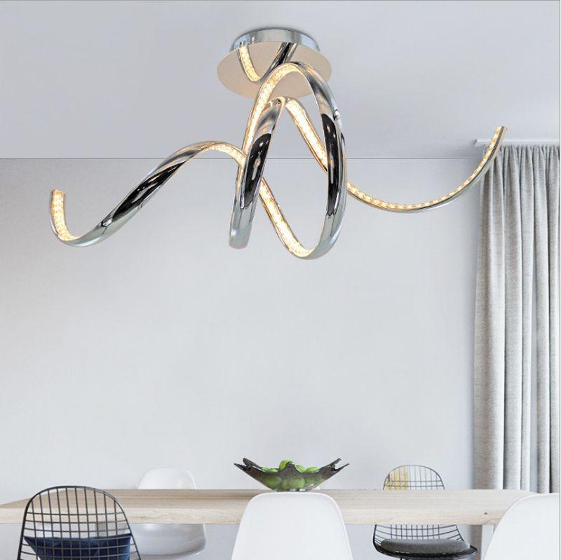 Moderno y elegante diseño de aluminio K9 LED plafón plafones plafones de superficie de techo montados en la superficie LED para sala de estar