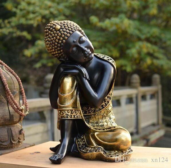 Venta al por mayor fuentes budistas Landhäuser und Touristenattraktionen Buda-sudeste asiático dormir Buda estatua de arte