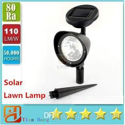 3 LED 9W 태양 전원이 스포트 라이트 야외 정원 풍경 잔디 마당 경로 스팟 장식 조명 램프 자동차 도매에