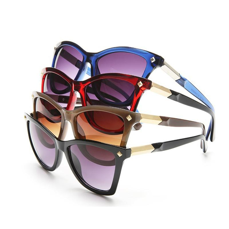 New 2018 Woman Sunglasses Big Frame Bright Trend Shopping Travel Photos Necessary High Quality Glasses