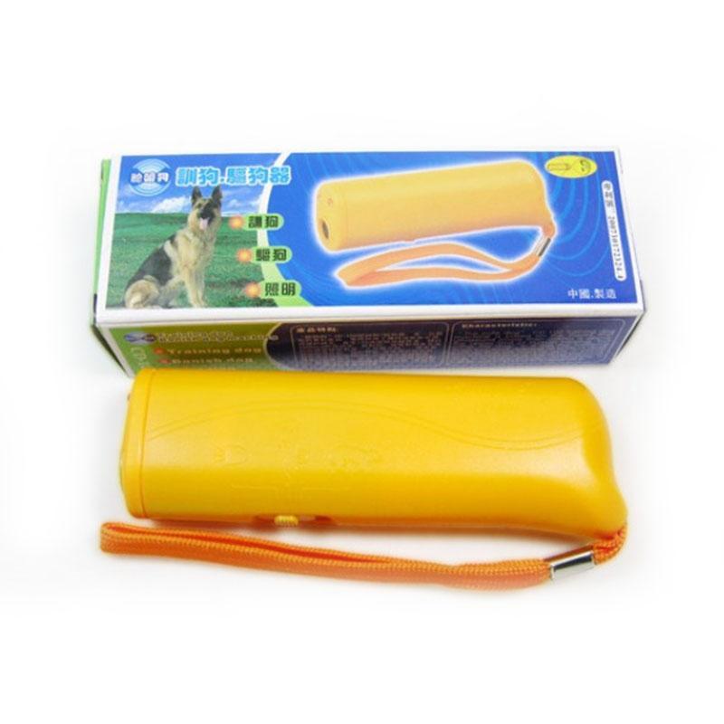 LED가있는 1 안티 짖는 소리 방지 짖는 소리 초음파 애완견 Repeller 교육 장치 트레이너의 새로운 3