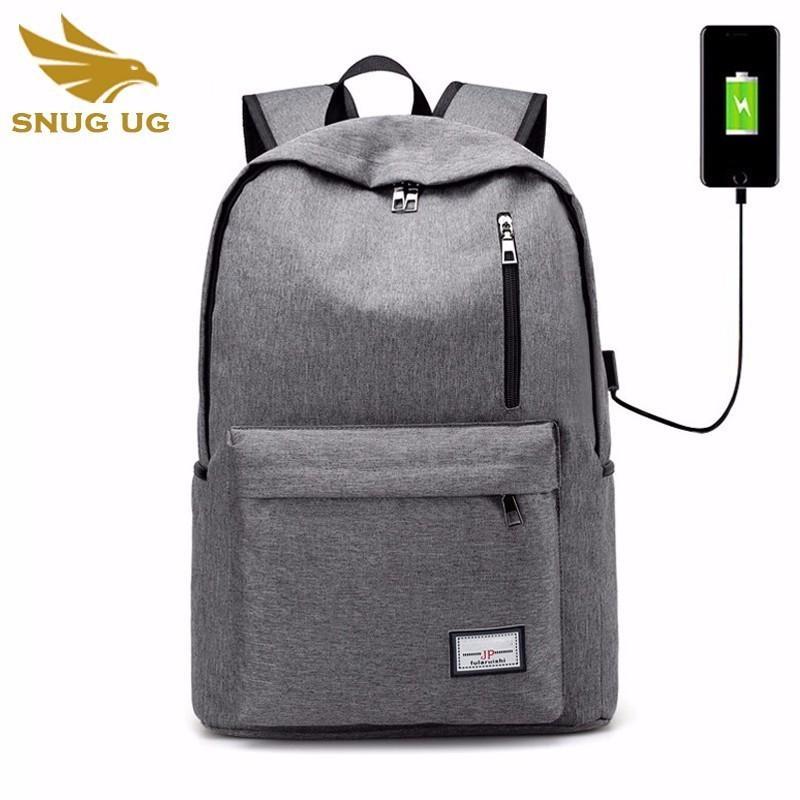 2018 de Instituciones USB nuevo de la manera empaqueta para las mochilas de carga adolescentes Impresión Mochila hombres de las mujeres de la lona