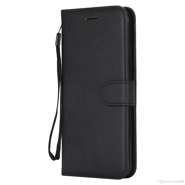 Funda de billetera para Huawei Mate 20 lite Funda con tapa trasera Color puro Cuero de PU Bolsas para teléfonos móviles Coque Fundas