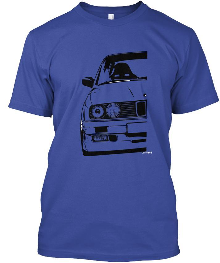 Solid Color E30 Best Design O - Neck Cotton Camisetas de manga corta