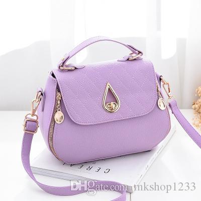 Marmont de lujo bolsa de alta calidad de las mujeres de la PU de la cadena de arco iris bolsa de mensajero del hombro del bolso