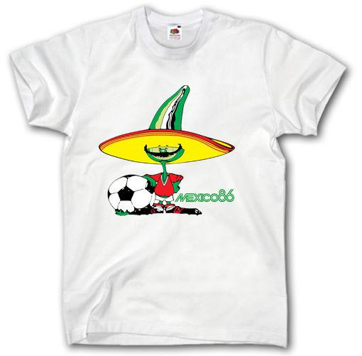 Wm 86 World Cup Retro Shirt S Xxxl Fussball Logo Mexico 1986 Weltmeister Order Tee Shirts T Shirt With Design From Jackiegreen Price Dhgate Com