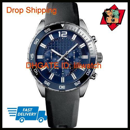 100% оригинальный Япония движение груза падения новый HB1512803 HB1512804 HB1512885 Hb1512931 синий черный ремешок дизайнер мужские часы
