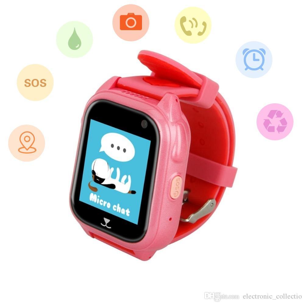 GPS Waterproof Kids Smartwatch, SOS / Global Positioning / IP67 Level Deeply Waterproof / cámara remota smartwatch, el mejor regalo para niños