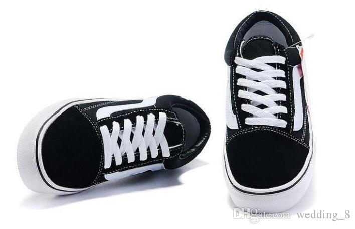 2018 zapatos de lona clásico blanco negro rojo marca zapatillas de deporte para mujer hombre de corte bajo monopatín zapatillas de deporte casuales 35-45