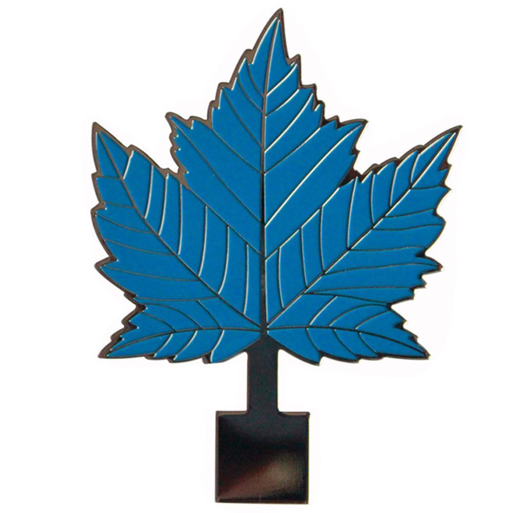 Pin de metal macio preto do Pin do Pin da lapela da folha de Mapel do esmalte do chapeamento de níquel