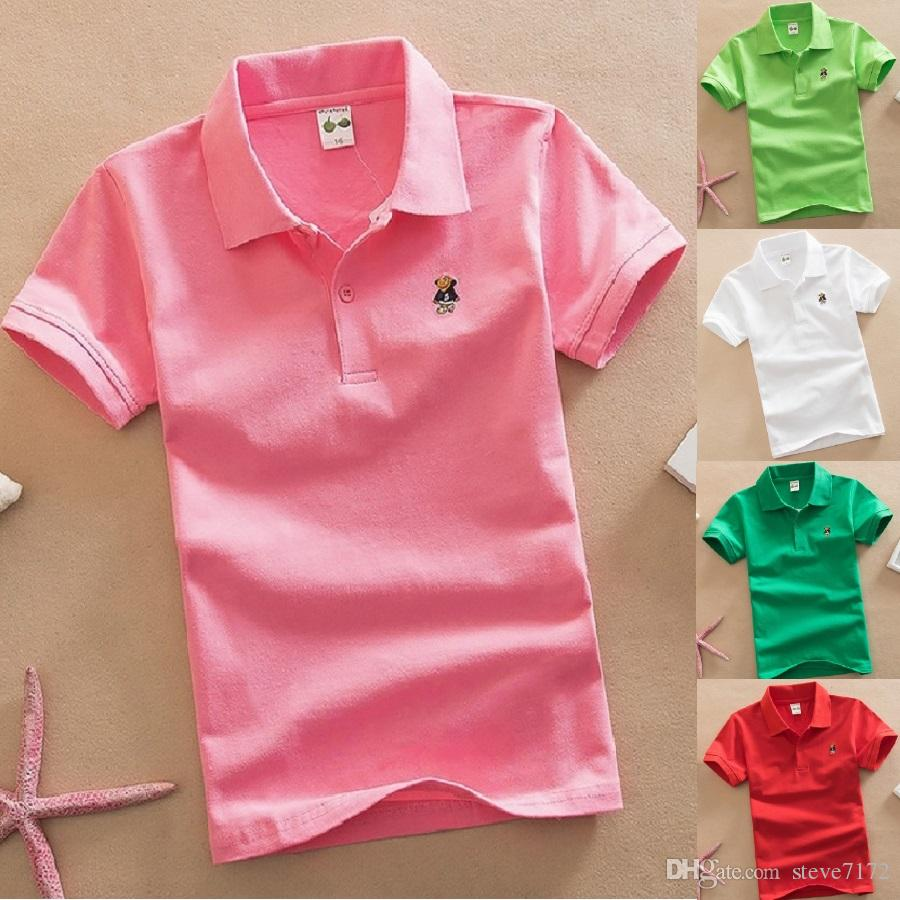 LOT OF 4 YOU PICK COLORS  10//12 BOYS POLOS