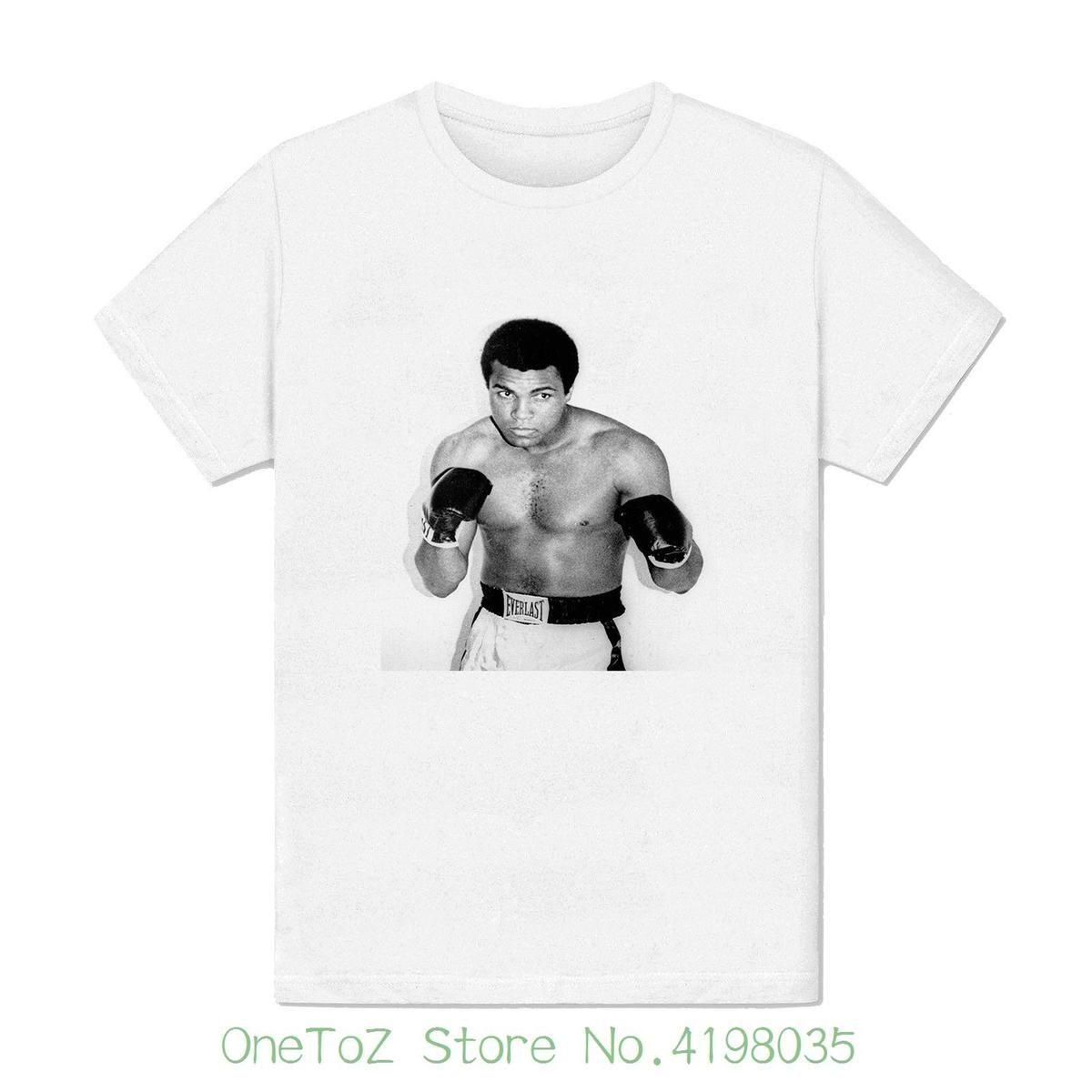 Acheter T Shirt Homme Mohamed Ali Muhammed Ali Star Boxe Mort Legende Argile Vêtements De Sport Tops Hipster Mode De $12.79 Du Pxue3207 | DHgate.Com