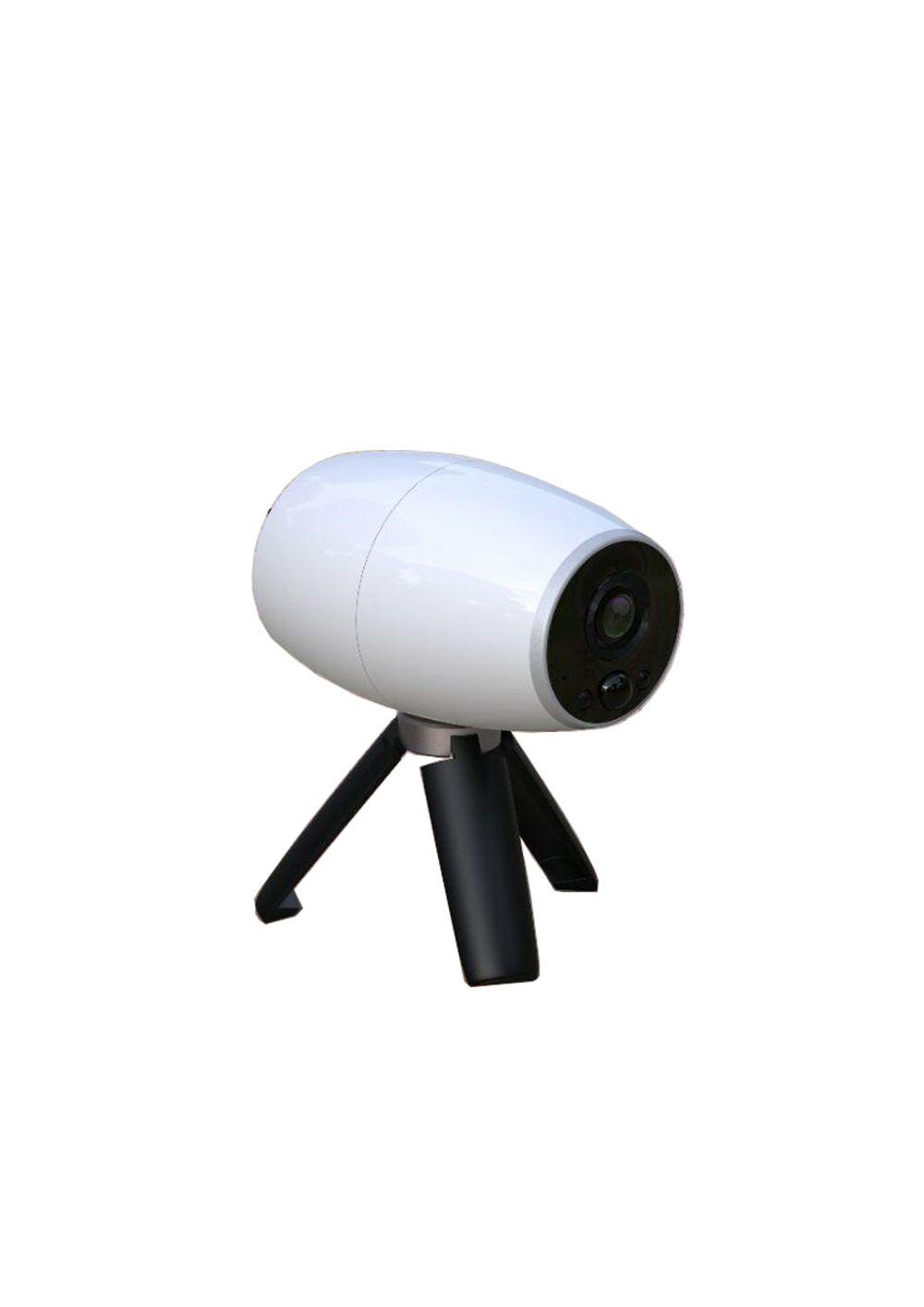 صغيرة بطارية الكاميرا المنزلية الدوائر التلفزيونية المغلقة سحابة لاسلكية واي فاي كاميرا IP بطارية قابلة للشحن تعمل بالطاقة في الهواء الطلق مانعة لتسرب الماء 720P الأمن الدوائر التلفزيونية المغلقة الكاميرا اثنين