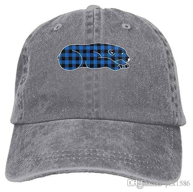 Bear Animal Baseball Caps Fancy Comfort Cool Hat Designs for Teen Girls Multi-color optional
