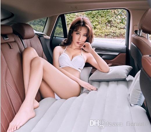 car styling del sedile posteriore dell'automobile copertura di viaggio materasso gonfiabile letto