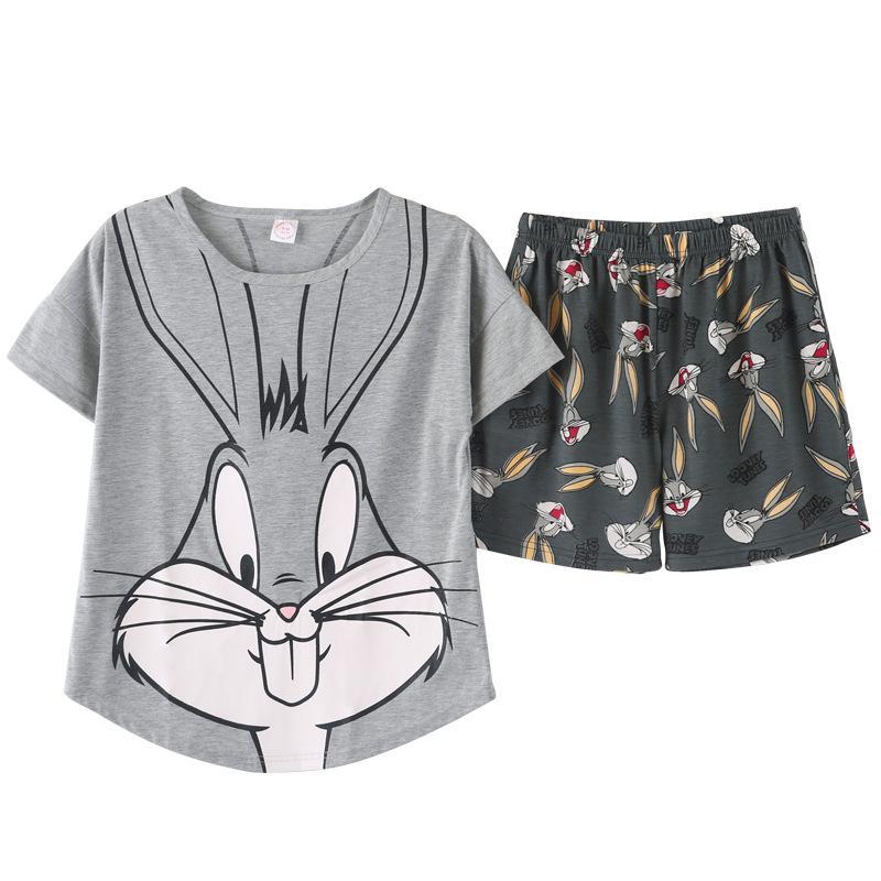 Ensembles de pyjamas femmes M-2XL buste 90-110cm Vêtements de nuit Pyjamas femmes Roupas Feminina Sleepwear 8723
