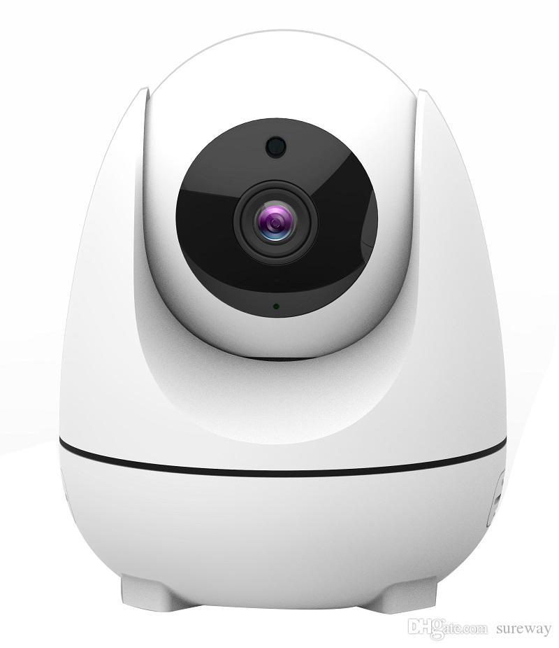 تتبع السيارات 1080P WIFI كاميرا 360 درجة اتجاهين الصوت 2MP التلقائي تتبع كاميرا لاسلكية واي فاي IP