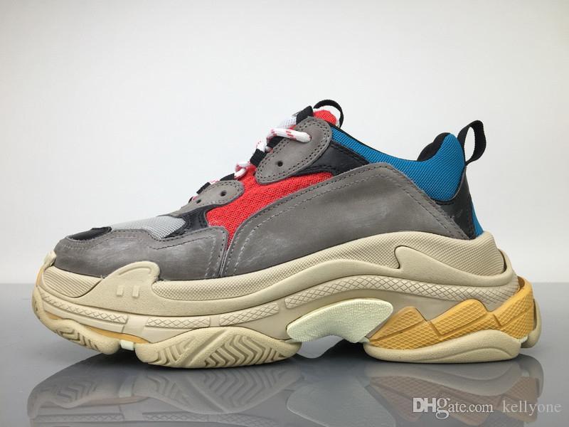 Compre Nike Roshe Run Nuevos Zapatos De Las Mujeres De Hombres Revela Nuevos Zapatos Casuales De La Zapatilla De Deporte Del Triple S De La Mujer