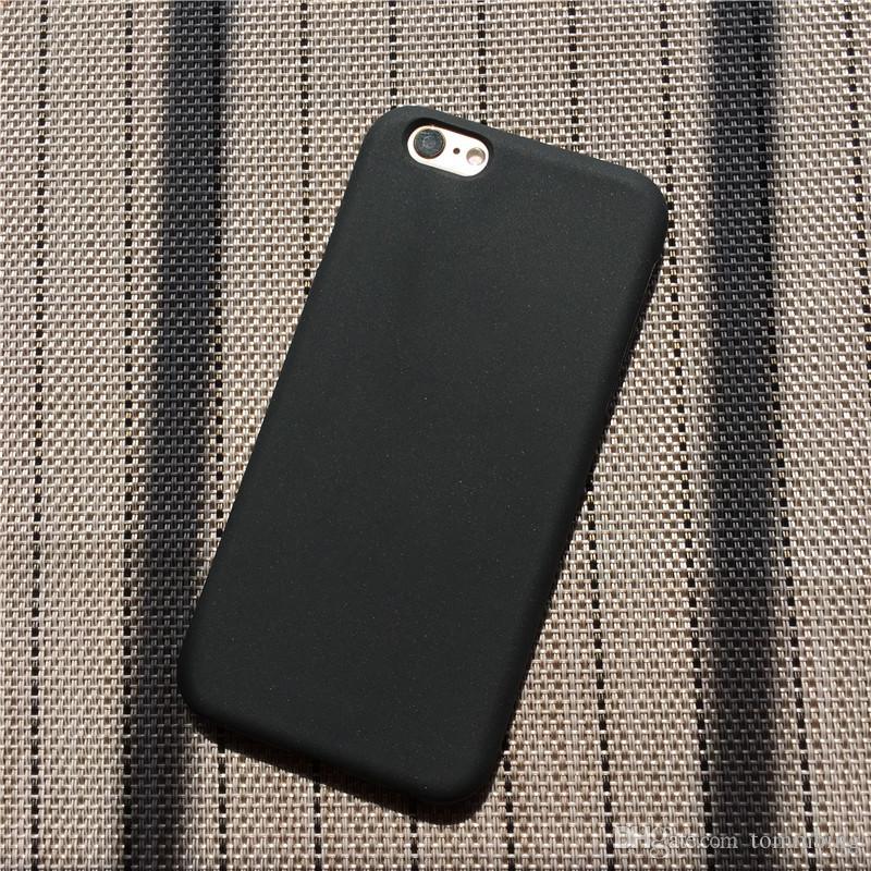 cover iphone 7 tinta unita silicone