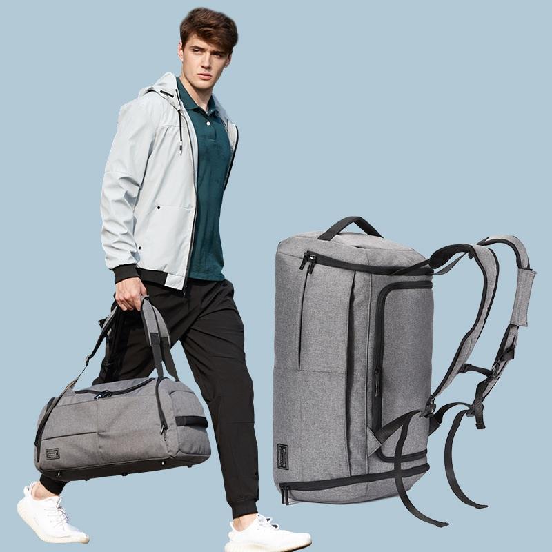 Borsa da fitness uomo formazione bagagli borsa maschile viaggio distanza zaino sportivi corta grande capacità borsa da palestra sport sci sci xleec
