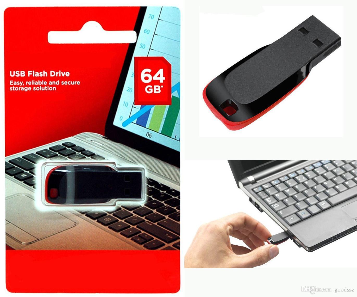 USB 플래시 드라이브 100 % 실제 8GB 16GB 32GB 64GB USB 2.0 메모리 스틱 플라스틱 U 디스크 메모리 스틱 정품 용량 고속