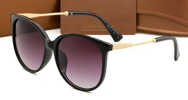 2017 luxus frauen sonnenbrille mode runde damen vintage retro marke designer übergroßen weiblichen sport sonnenbrille 1719