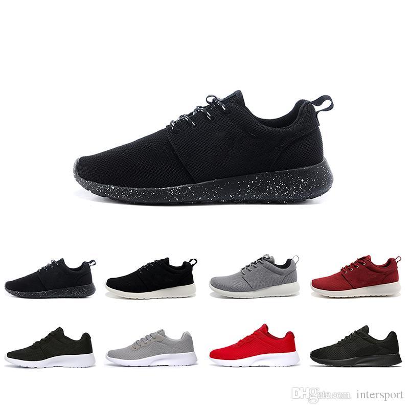 2018 뜨거운 판매 런던 3.0 1.0 클래식 실행 운동화 남자 여자 블랙 낮은 가벼운 통풍 올림픽 스포츠 트레이너 스니커즈 신발