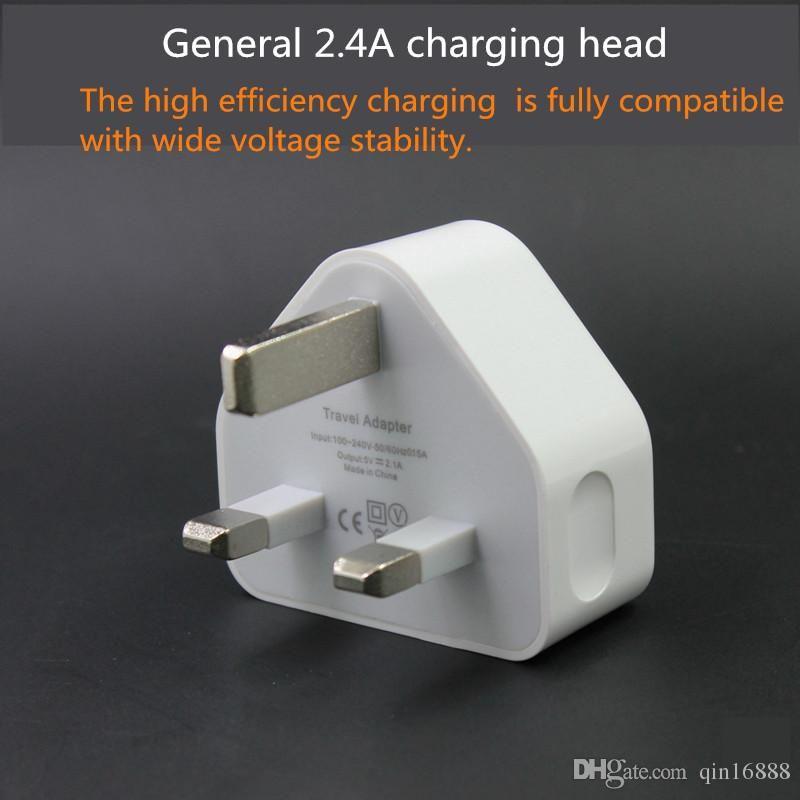 2.1A هاتف مسطح مزدوج الرأس منفذ USB شحن رئيس 2100 مللي أمبير شاحن الإخراج غيج رئيس الشحن