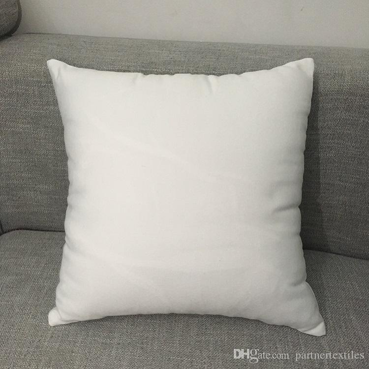 16 By 16 Pillow.16x16 White Polyester Pillow Case Pure White Pillow Cover Blank 100 Polyester Canvas Cushion Cover For Sublimation Black And White Pillow Cases Grey
