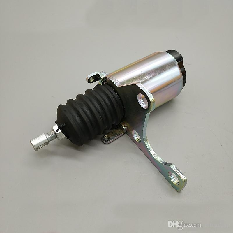 Flameout Shutoff Solenoid 4M04 Engine Stop Solenoid Valve for E320 305 306 307 308 Excavator