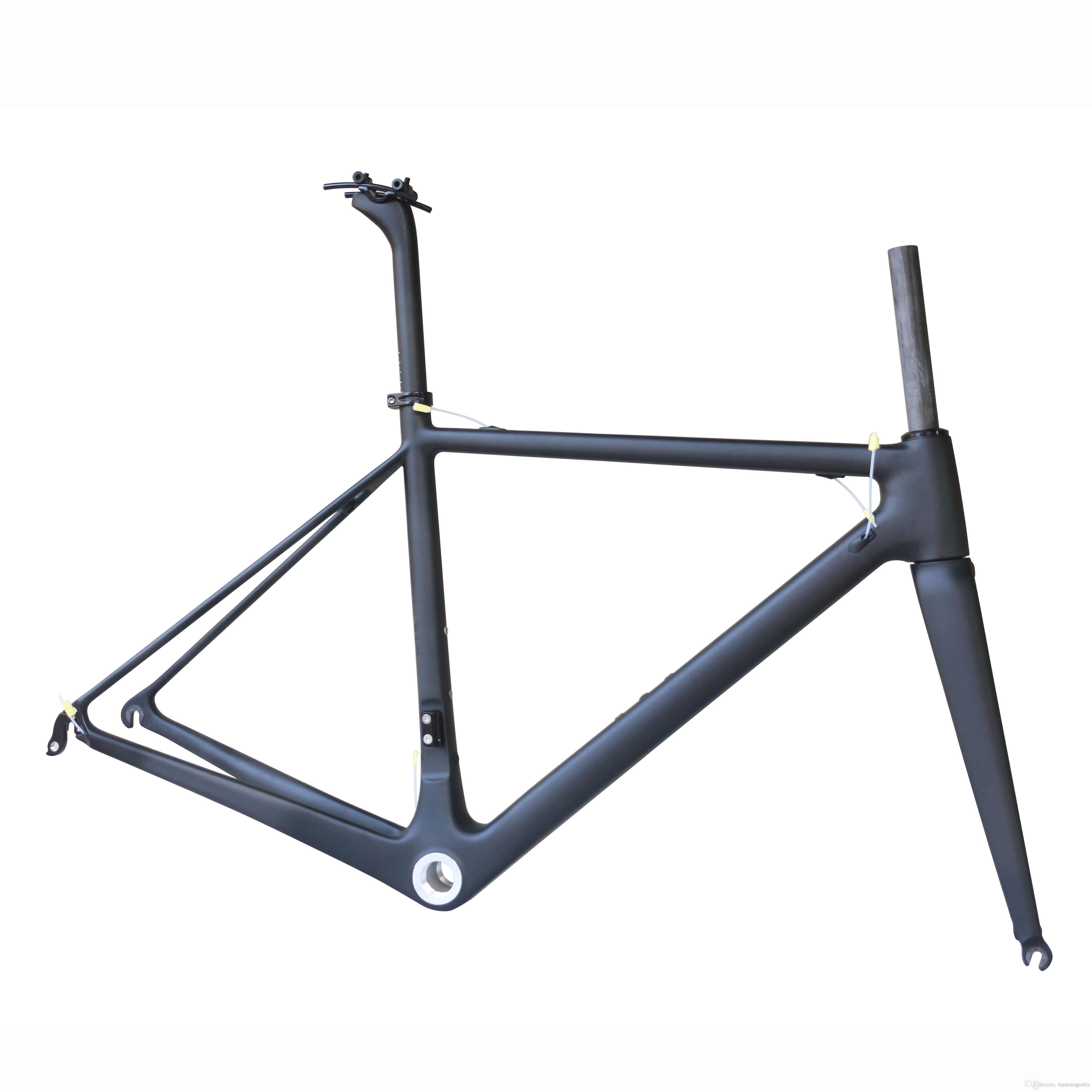 Cadre de vélo T1000 T1000 Carbon Road, cadre de vélo de route de carbone, vélo de route en fibre de carbone
