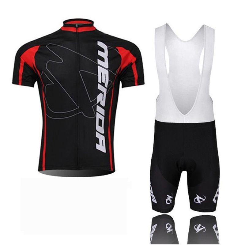 Merida Team Cycling Mangas cortas Jersey (BIB) Shorts Sets PRO ROPA MOUNTA MOUNTS TRIPTORIA RACTING SPORTS BICICLE MAILLOT SOFT SKINE SKIN-FIJO Z40636