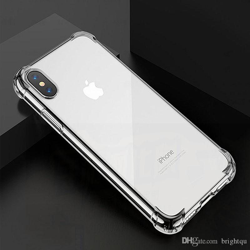 ударопрочный мобильный телефон чехлы Shell сотовый телефон чехлы для Iphone X 6 7 8 Plus XS XR Max мобильный телефон протекторы защитный чехол мини 100 шт.