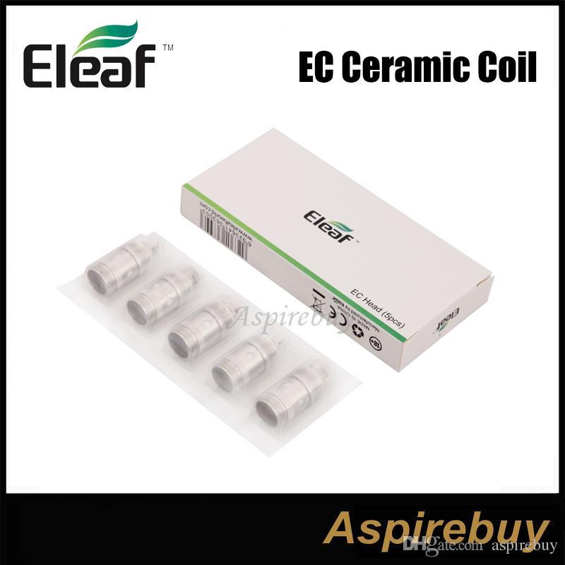 iSmoka Eleaf EC-Ceramic Coil 0.5ohm 30W-60W керамический Влагоотведение система Совместимость с iJust 2 / iJust 2 мини / MELO / Мело 2/3 Атомайзер