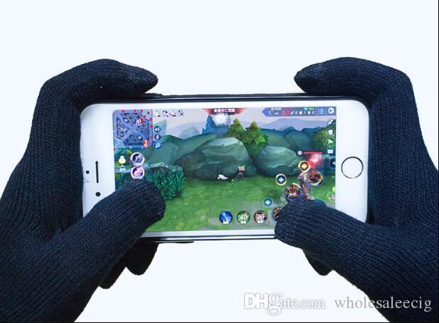 2019 أعلى جودة للجنسين Iglove بالسعة شاشة تعمل باللمس قفازات متعددة الأغراض الشتاء الدافئة Igloves قفازات آيفون 7 Samsung S7 2PCS زوج