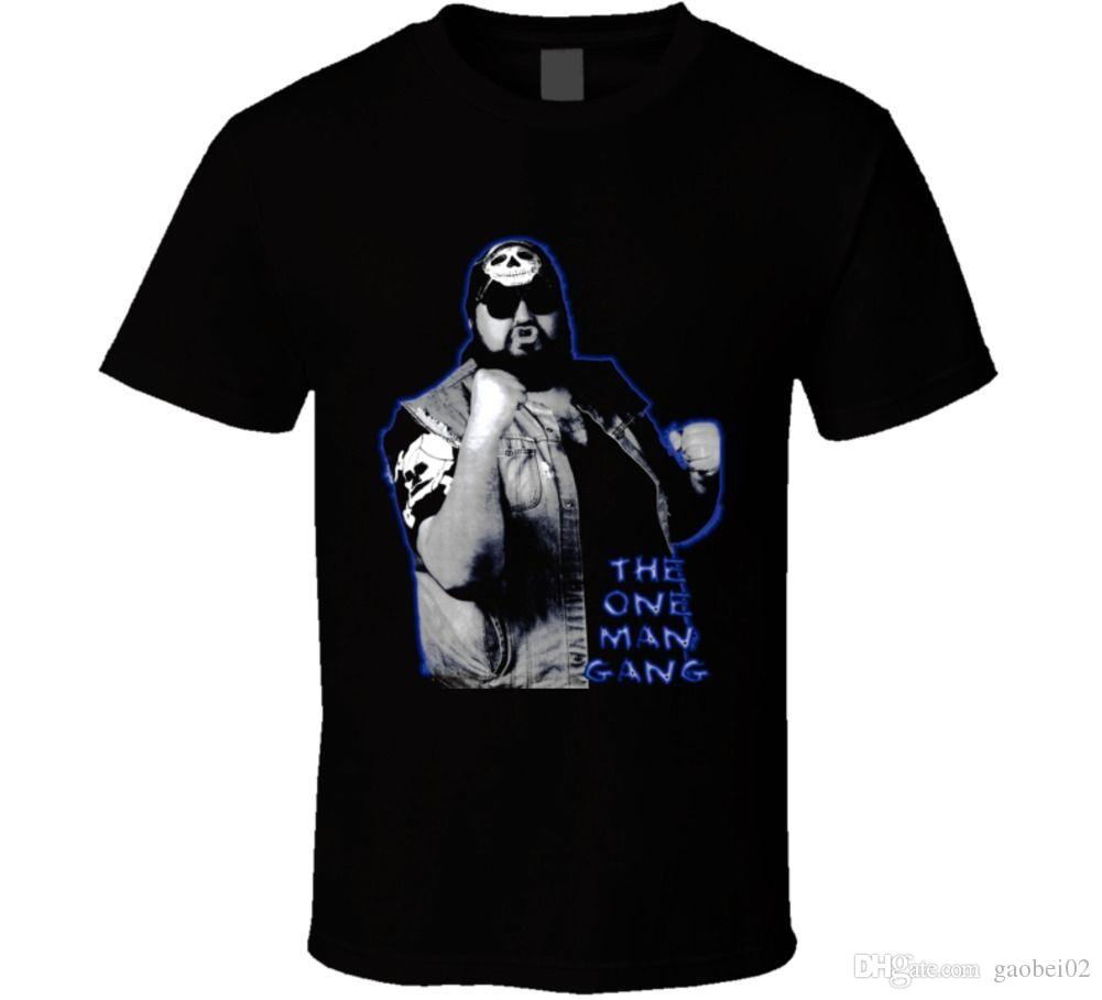 One Man Gang Wrestling legend indie star Fan t shirt