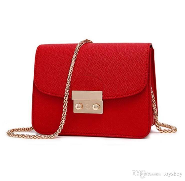 Borse piccole donne Borsa in pelle PU Messenger Borse frizione Designer Mini borsa a tracolla Borsa delle donne Vendita calda borsa bolso mujer