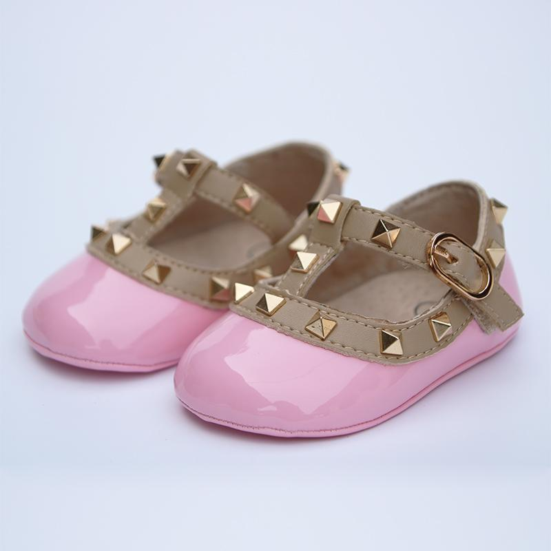 Infant Patent Leather Shoes Baby First