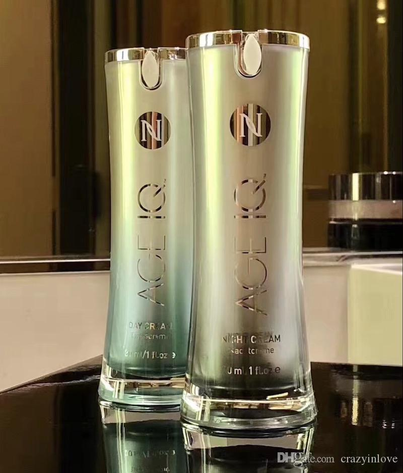 New upgrade package! Hot selling Nerium AD Night Cream and Day Cream 30ml Skin Care Day Night Creams Sealed Box 10pcs NV Makeup AGE IQ cream