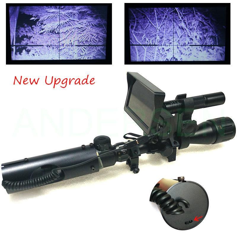 حار في الصيد البصريات أحادي التكتيكية الرقمية للرؤية الليلية مناظير تلسكوب استخدام في يوم ليلة ل riflescope