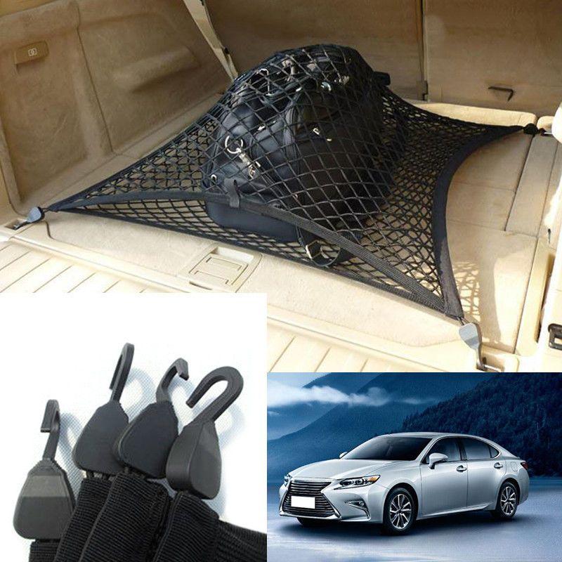 Для Lexus серии ES автомобиль авто задний багажник грузовой организатор хранения Net камера хранения организатор нейлон лайнер обложка DIY