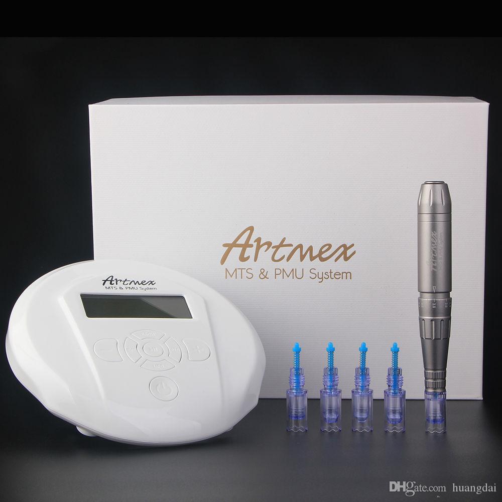 Artmex V6 MTS + PMU digital tattoo professional permanent makeup machine for eyebrow Lip